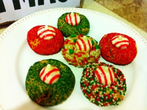Peanut Butter Christmas Kiss Cookies From Heels To Boots
