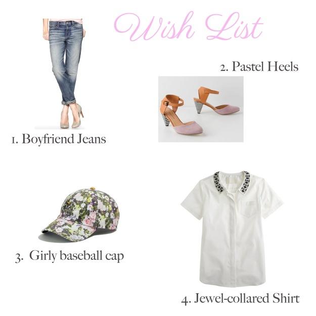 Wish List 1