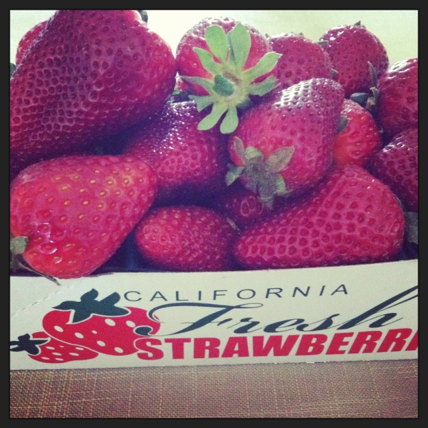 Absolutely, positively the most amazing strawberries that you will ever taste come from the strawberries stands in the valley.  Nothing beats them.  They make me happy.